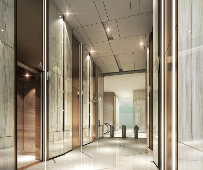 Office Main Lift Lobby