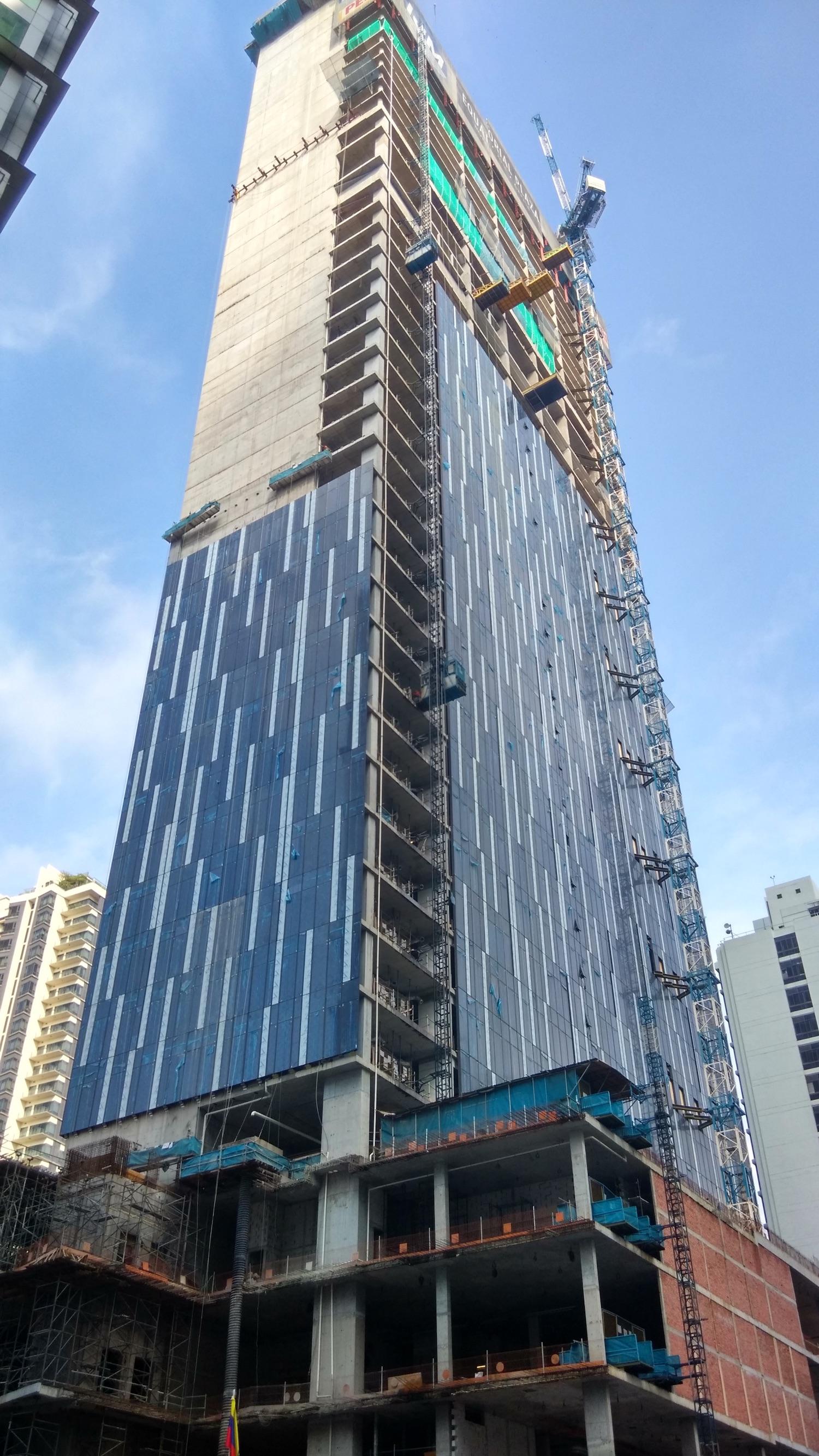 Construction Progress - Jalan Perak
